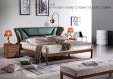 Het moderne Nieuwe Bed van de Slaapkamer Confortable van het Ontwerp Houten Dubbele