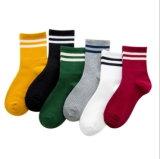 Корейский типа женского колледжа стиле полоса хлопка лодыжки Спортивные носки для зимнего