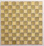 El patrón de azulejos de mosaico de vidrio metálico diseños decorativos para el hogar