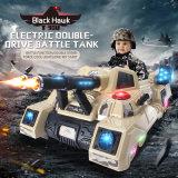 탱크 장난감에 고속 전기 모형 RC 두 배 쌍둥이 엔진 아이 탐