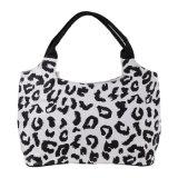 完全な動物プリント600dポリエステル浜袋のハンドバッグの女性袋のギフト袋