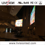 教会屋内LED表示スクリーンのためのP3.91indoor LEDのビデオ壁