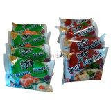 Мгновенное лапшу в пакете с различными вкус