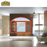 Openslaand raam van het Ontwerp van Cayoe het heet-Verkoop speciaal-Gevormde