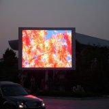 Outdoor Unipole pleine couleur permanent P10 de la publicité numérique affichage LED