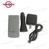 Pocket GPS/GSM Jammer PK311, hasta 2 horas de uso continuo de la carga completa, Cargador de coche
