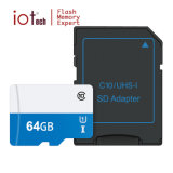 64GB Wholesale preiswerte niedriger Preis-volle Kapazitäts-Taiwan Mikro-Ableiter-codierte Karte TF Card