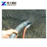 Intonaco del cemento che riempie di malta pompa di spruzzatura