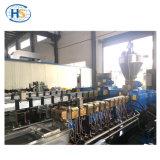 Curto com fibra de vidro PP/PA grânulos máquina extrusora