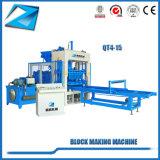 Einfacher automatischer Qt4-15 Ziegeleimaschine-Produktionszweig