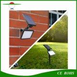 4 riflettore solare solare multifunzionale del giardino della lampada da parete di modi di illuminazione l'alto Brigntness 48LED 960lm illumina l'indicatore luminoso del prato inglese del punto con il palo a terra