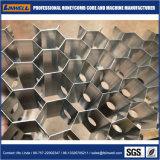 Panal de miel en panal de aluminio aeroespacial Core para aviones/tren/Paneles de carretilla