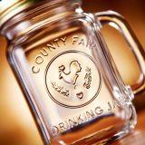 Handle 16ozの卸し売りGlass Mason Jar