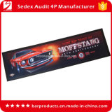Barのための赤いColor Car Logo Printing Drinking Mat