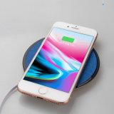Qi-drahtlose Aufladeeinheits-wasserdichte drahtlose schnelle Aufladeeinheit mit LED-Licht für iPhone drahtlose Tischplattenaufladeeinheit mit Ausdehnungs-Kabel für Samsung