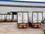Foton 6の荷車引き1トンの鮮魚のアイスクリーム冷却装置小型トラック