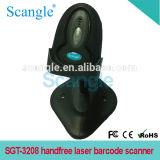32bits de Scanner van de Streepjescode van de Laser van Handfree van de auto-Betekenis van de hoge snelheid Met Tribune