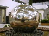 Большой размер шаровой шарнир в Саду высокой из полированной нержавеющей стали полой сферы наружного зеркала заднего вида