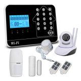 Nuovo sistema di allarme domestico senza fili caldo di obbligazione dello scassinatore di vendite 2018 WiFi+PSTN+GSM con la macchina fotografica del IP di HD