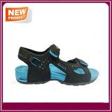 Горячие сандалии пляжа сбывания с голубым цветом