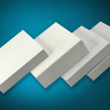 Рекламирующ пену PVC знака покрывает белый PVC пластмассы