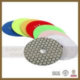 Tampone a cuscinetti per lucidare del diamante secco ed umido flessibile (SUNNYTOOLS001)