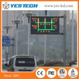 Im Freien farbenreiche P6.25mm Verkehrs-Straße LED-Bildschirmanzeige