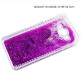 カスタム卸し売りフルーツのきらめきの携帯電話カバーケースとSamsusng S6の端のための液体の砂の流砂の箱