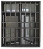 Burgularproof組み込みの棒(BHA-CW31)が付いているアルミニウム開き窓