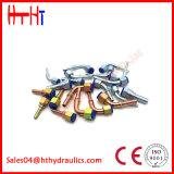 Encaixes de mangueira hidráulicos em linha reta estampados com Sample20611 livre 20611-T