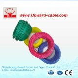 Collegare elettrico domestico flessibile isolato PVC del singolo rame di memoria
