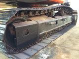 Máquina escavadora usada barata e popular Hitachi Ex200-1 da esteira rolante sem computador