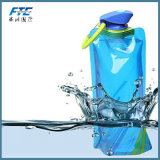 Dobragem personalizada de garrafas de água para a promoção