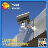 Indicatore luminoso di via solare Integrated astuto del giardino del LED con il comitato solare registrabile