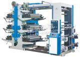 Machine d'impression non tissée flexographique de six couleurs