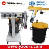 Máquina de revestimento manual em pó