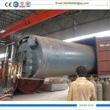 a maquinaria plástica da pirólise do petróleo 5ton jejua a instalação