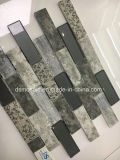 La plus récente technologie Full Body Interlocking Grey Glass Mosaic Tile