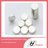 De super Magneet van de Schijf van het Neodymium van de Macht N35-52 met ISO9001 Ts16949