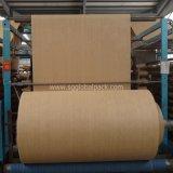 Tissu blanc de raphia tissé par pp de la Chine pour faire des sacs