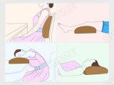 Het navulbare Batterij In werking gestelde Reizende Kussen van de Massage van het Lichaam van de Trilling