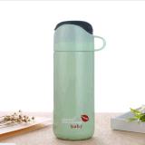 Garrafa de água, vaso de vácuo isolado, caneca de aço inoxidável / 380ml Thermos de café e balão de vácuo