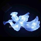 装飾の祝祭LEDの天使のモチーフライト(天使28cm)