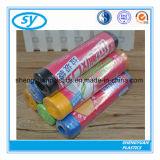 Мешок отброса цветастого HDPE пластичный на крене или пакете