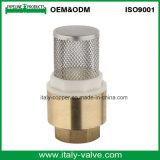 Hochwertiger Messing schmiedete Filter-Rückschlagventil-/Check-Ventil mit Mutter (AV5003)