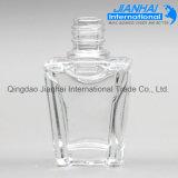 Bottiglia di vetro all'ingrosso del polacco di chiodo del quadrato di alta qualità