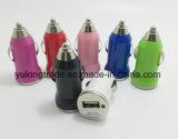 Заряжатель 2A 1A автомобиля USB металла мобильного телефона 5V беспроволочный