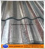 folha galvanizada 26gauge do telhado do ferro