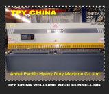 Máquina de corte hidráulica de la placa de acero del oscilación