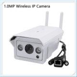 cámara sin hilos barata del IP del punto negro de 720p WiFi IR con el CCTV impermeable